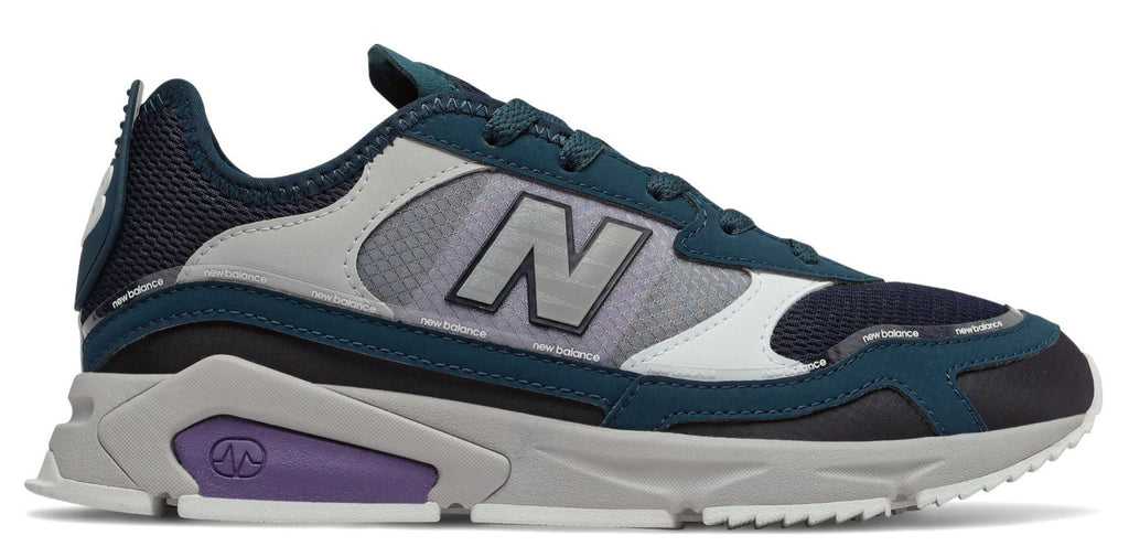 NEW BALANCE X-Racer Women | Supercell with Black & Violet Fluorite (WSXRCHFC)