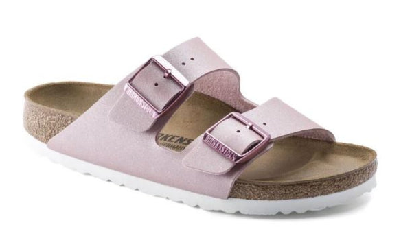 BIRKENSTOCK Arizona Birko Flor Women | Icy Metallic Old Rose