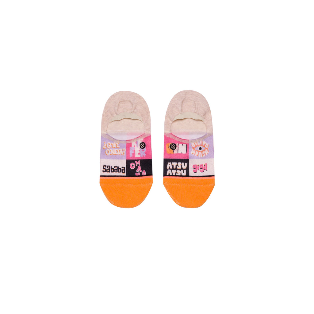 STANCE New Slang Invisible Socks Women | Multi (W115C18NEW) (Medium)