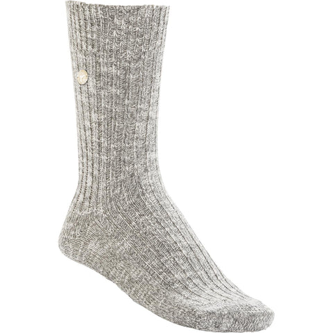 BIRKENSTOCK Slub Socks Women | Grey / White (1008032)