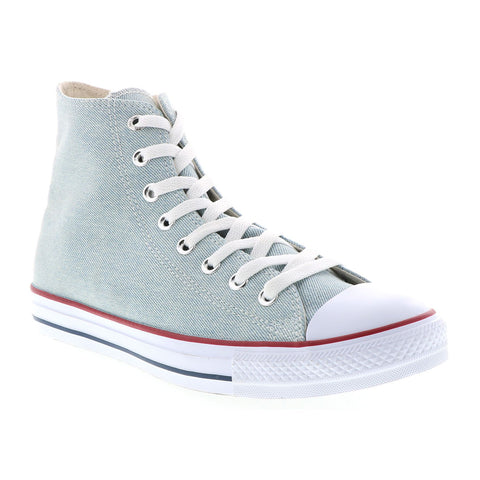 CONVERSE Chuck Taylor All Star Hi Women | Light Blue / White / Brown (161491C)