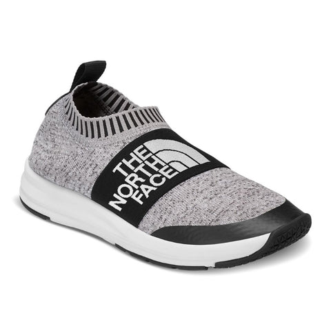 THE NORTH FACE NSE Traction Knit Moc Women | Heather Grey / TNF White (NF0A3RR2)