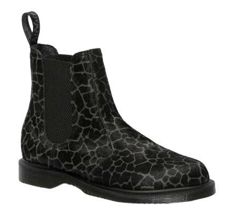 DR.MARTENS Flora Women | Black/Grey Hair On (26241057)