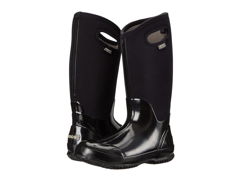 BOGS Classic High Handle Women | Shiny Black