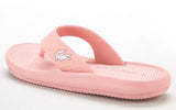 LACOSTE Croco Sandal 219 1 CFA Women | Light Pink/White (2208)