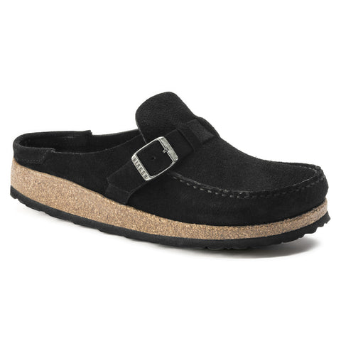 BIRKENSTOCK Buckley  Suede Leather Narrow Women | Black (1017826)