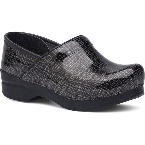 DANSKO Crisscross Professional Women | Black/Silver - Vamps NYC