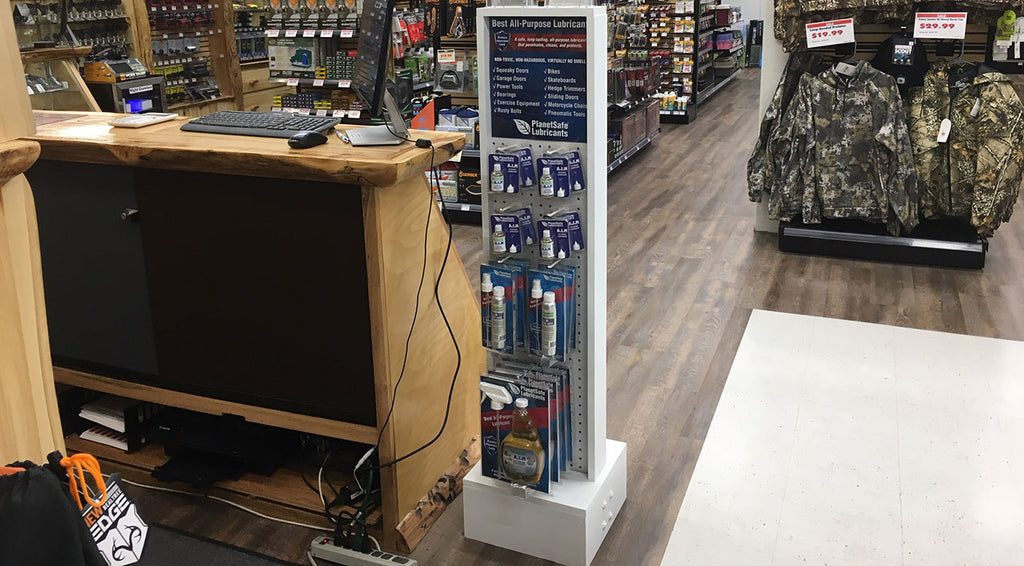 Display Stand Now Available For Retailers