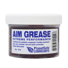 Load image into Gallery viewer, PlanetSafe AIM Grease 8oz Tub - Extreme Performance Industrial Grease - Worlds Best Grease - Eco-Friendly - safe - tapping grease