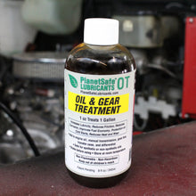 Load image into Gallery viewer, PlanetSafe Lubricants OT Oil Treatment 8oz -Oil and Gear Treatment - Worlds best - non-toxic - scientifically proven - oil treatment diesel engine