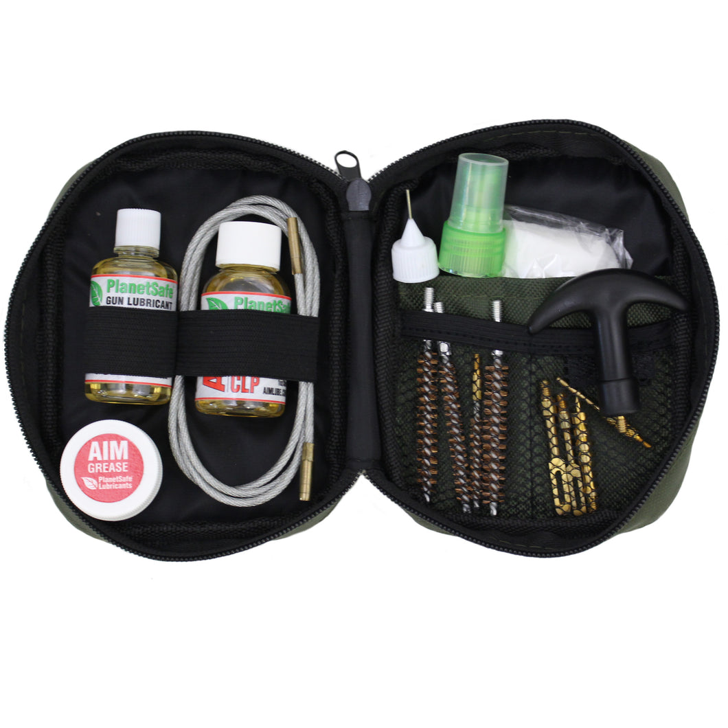 PlanetSafe Lubricants Weapons Grade CLP Rifle Cleaning Kit - Worlds best gun lube - odorless - safe - non-toxic - veteran owned - cleaning - jamming
