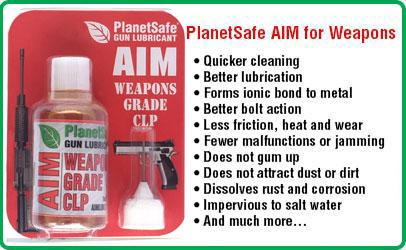 PlanetSafe AIM Weapons Cleaner and Lubricant
