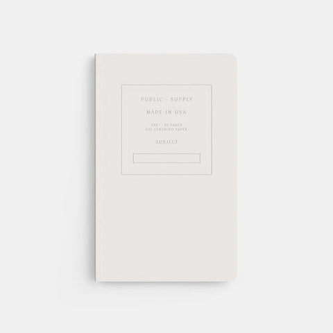 "5"" x 8"" Embossed Ruled Notebook"