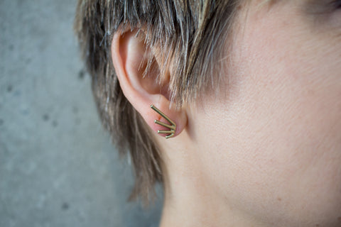 Burst Post Earrings