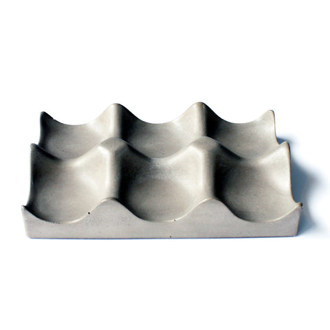 Concrete Hexi-Bowl
