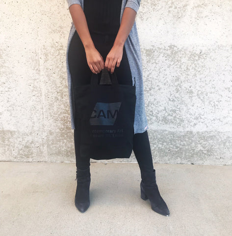 CAM Tote - Black on Black