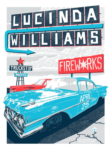 Limited Edition Lucinda Williams Poster