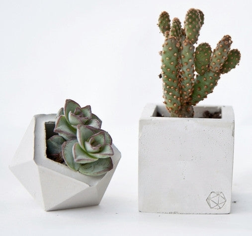 Geometric Mini Vessels