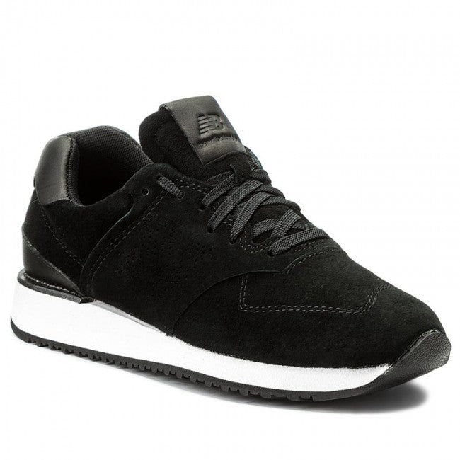 New Balance - Women's 745 in Black Suede