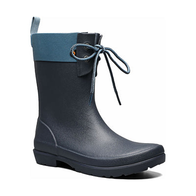 Bogs - Women's Flora 2 eye Boots Navy