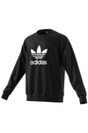 Adidas - Trefoil Warm Up Crew Sweatshirt Black