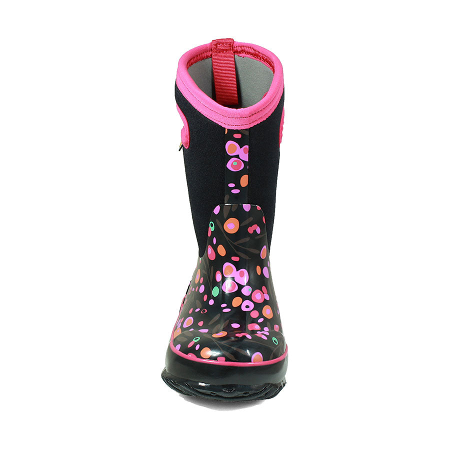 Bogs - Kids Classic Cattails in Black Multi