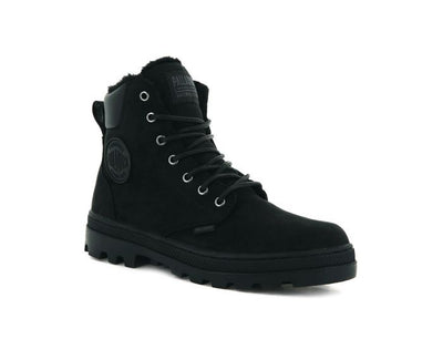 Palladium- Women Pallabosse Black Winter Boots