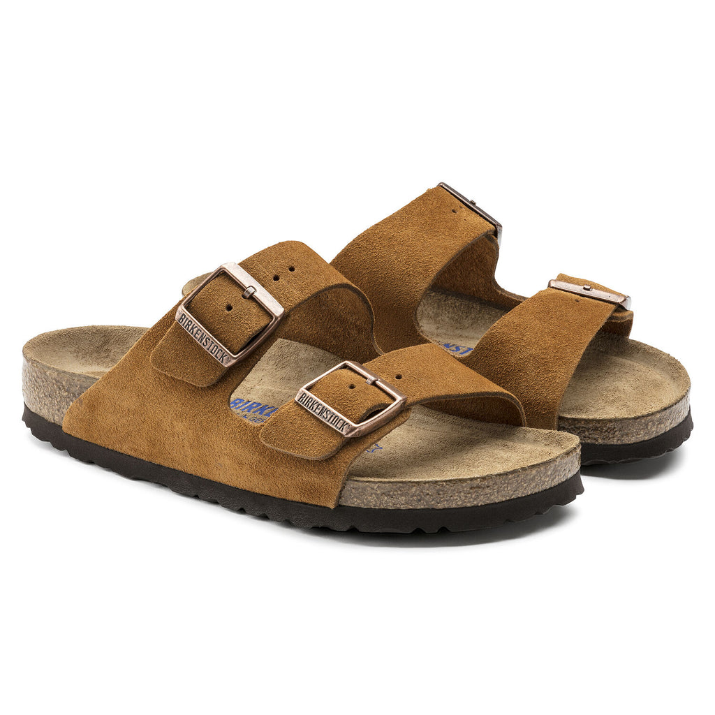 Birkenstock- Hommes Arizona Suede Leather Mink