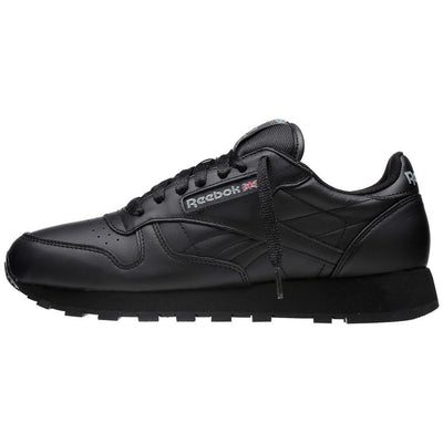 Reebok - Classic Leather in Black - GABRIEL CHAUSSURES