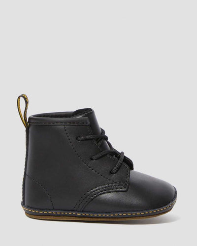 Dr Martens - Newborn 1460 Auburn Leather Booties Noir