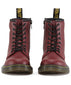 Dr Martens - 1460 Cherry Red Delaney Softy - GABRIEL CHAUSSURES