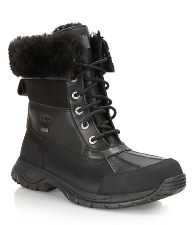 UGG- Men's Butte Black Winter Boots