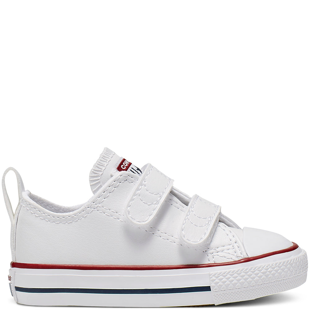 Converse- Enfants Chuck Taylor All Star 2V Low Top Blanc