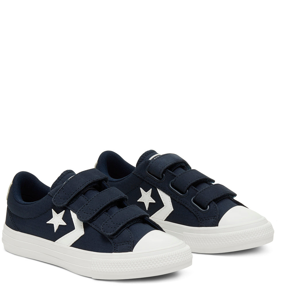 Converse - Enfants Chuck Taylor All Star Star Player 3V Low Top Navy
