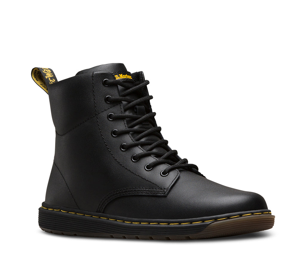 Dr Martens - Black Malky Leather - GABRIEL CHAUSSURES