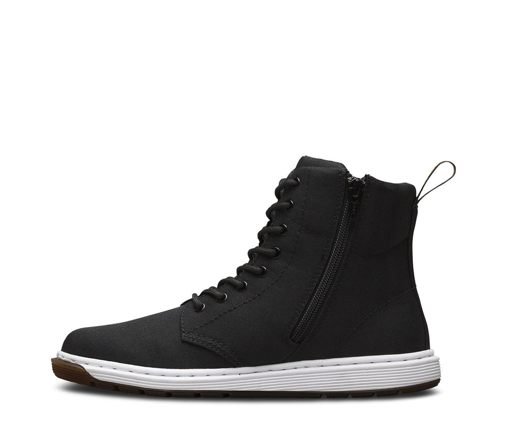 Dr Martens - Black Malky Canvas - GABRIEL CHAUSSURES