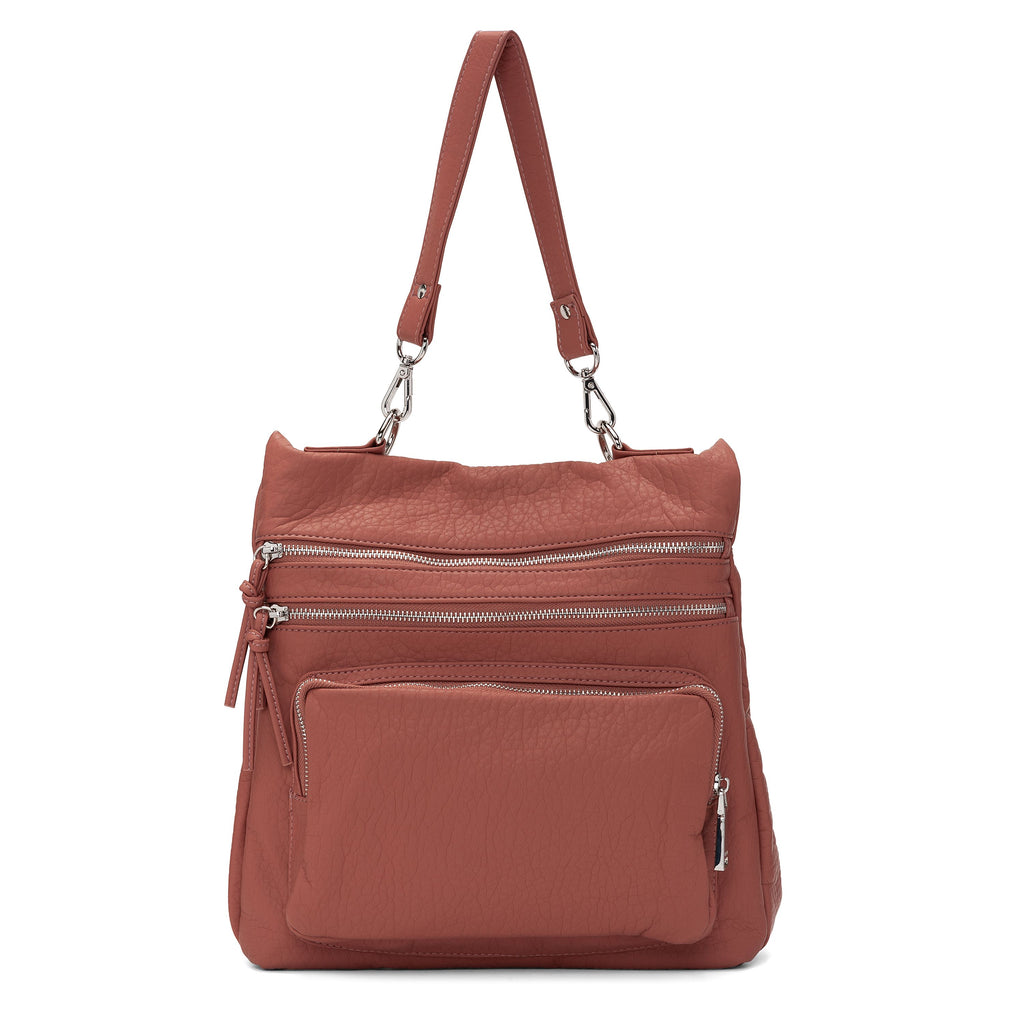 CO-LAB - 6348 Sac à dos convertible Messenger Mulberry
