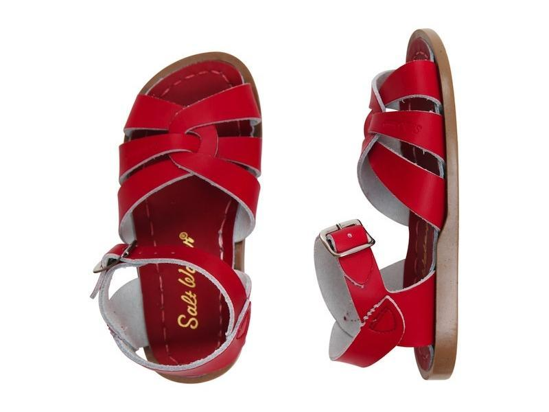 Salt Water- Kid's Original Red Sandals