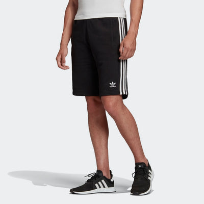 Adidas- Men's 3 Stripes Short Black DH5798