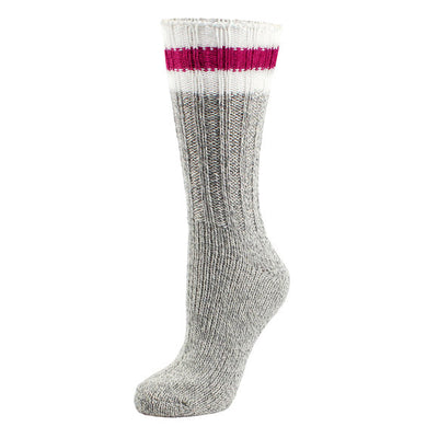 Laska- Unisex Sock 84-381 Grey/Red