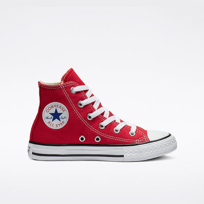 Converse- Kids Chuck Taylor All Star High Top Red