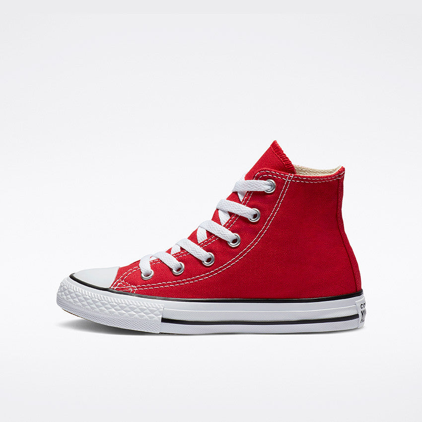Converse- Enfants Chuck Taylor All Star High Top Rouge