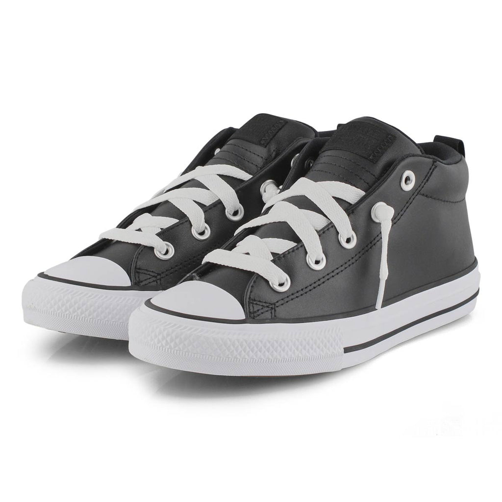 Converse- kids Chuck Taylor All Star Street Mid Black