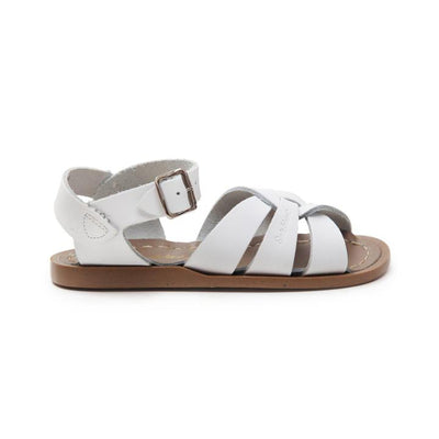 Salt Water- Kid's Original White Sandals