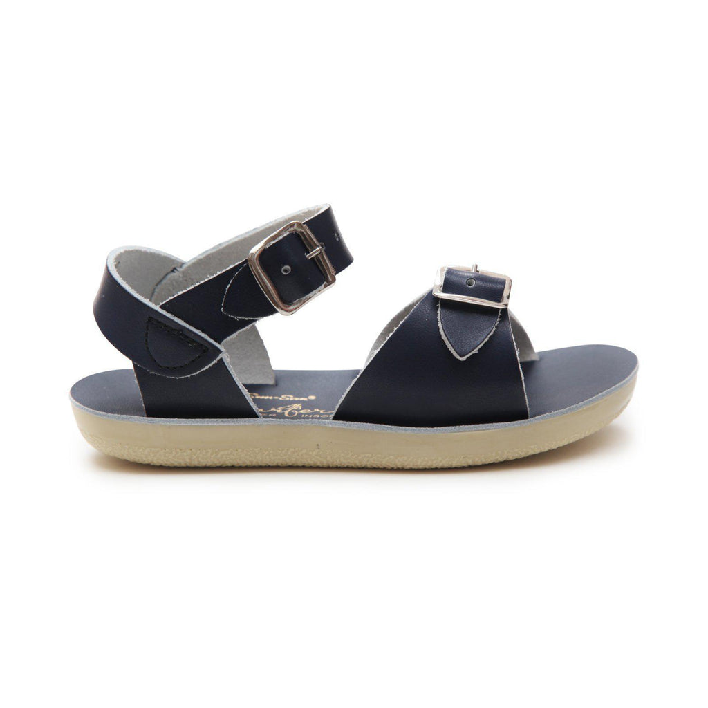 Salt Water- Kid's Surfer Navy Sandals