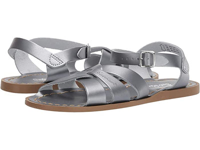 Salt Water - Women's Original Sandals Pewter 814