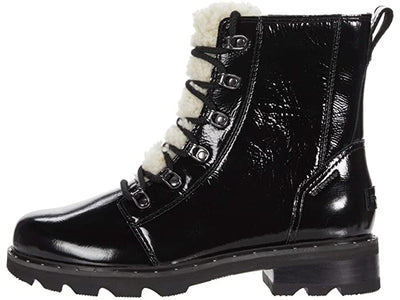 Sorel- Women's Lennox Black Winter Boots