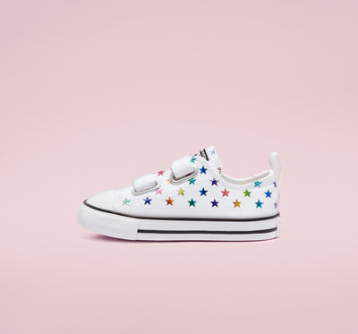 Converse- kids Chuck Taylor All Star 2V Low Top Archive Foil Easy-On 770688