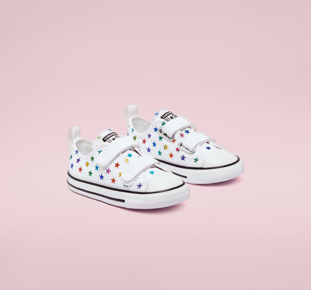 Converse - Enfants Chuck Taylor All Star 2V Low Top Archive Foil Easy-On 770688