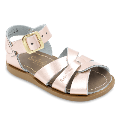 Salt Water- Kid's Original Pink Gold Sandals